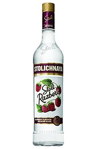 Stolichnaya Raspberry Blueberi Vodka 37,5% 0,7 Liter