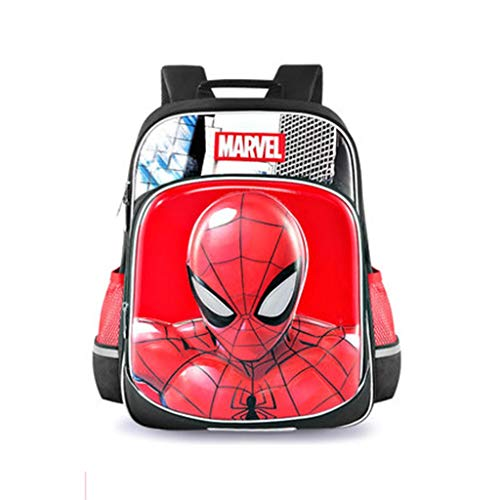 HUOQILIN Spiderman Schooltas Schooljongen Man 1- Grade 3 Lichtgewicht Schoudertas lasten