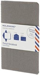 Moleskine Postal Notebook - Large Pebble Gray (Moleskine Messages)