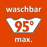 sleepling 191168 wasserundurchlässige Molton Matratzenauflage Inkontinenzauflage mit atmungsaktiver Beschichtung, 95 Grad kochfest, Made in Germany 60 x 120 cm bis 70 x 140 cm, weiß - 2