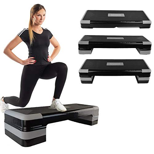 RIP X Adjustable Aerobic Workout Home Exercise Stepper Board Yoga Step Up Gym