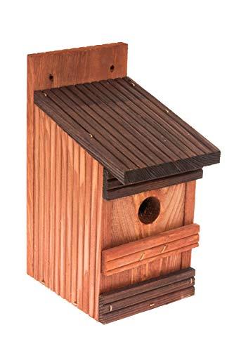 MAZUR International Nistkasten Nistkästen für meisen, spatzen,Vögel aus Holz,