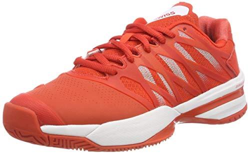 K-Swiss Performance KS Tfw Ultrashot, Zapatillas de Tenis Mujer, Rojo (Fiesta/White 01), 41.5 EU
