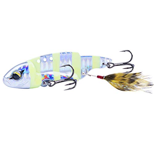 Goture 1PC Ice Fishing Lures Set Bass Trout Walleye Ice