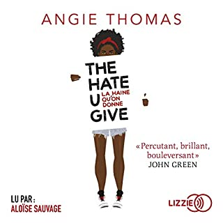Page de couverture de The Hate U Give [French Version]