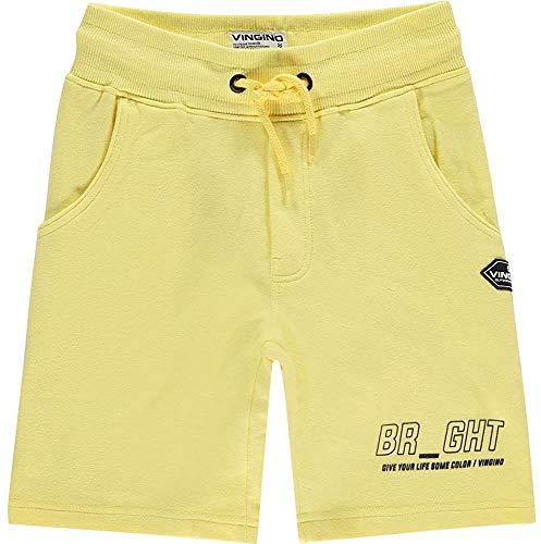 Vingino jongens short korte broek RASTEL Pastel Yellow