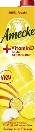 Amecke, + Vitamin D 6x1l, Früchtemischungen, 6 stück
