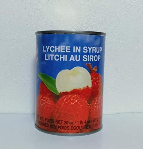 【糖水?枝 】 糖水ライチ ライチのシロップ漬け 565g×6点