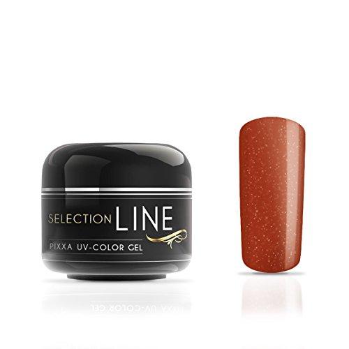 Gel couleur Selection Line Pixxa Fudge Brown 5 ml-Gel de couleur haut de gamme pour les ongles extravagant design Nail