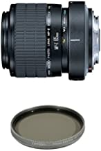 Canon MP-E 65mm f/2.8 1-5X Macro Lens for Canon SLR Cameras w/ Tiffen Polarizer Filter