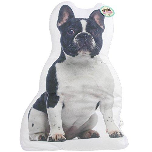 PMS - Cojín para perro (62 cm), diseño de toro francés