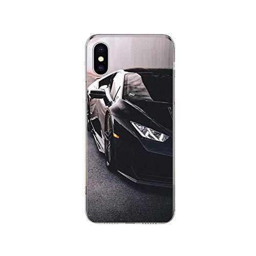 Hopereo - Carcasa para iPhone 11 Pro 7 6 X 8 6S Plus Xs Max + Xr 5S SE 10 Ten Art Tpu Coque Capa Shell