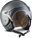 "SOXON® SP-325 Mono ""Titan"" · Jet-Helm · Motorrad-Helm Roller-Helm Scooter-Helm Moped..."