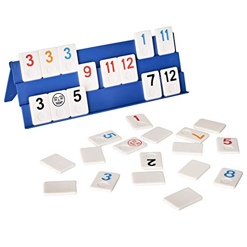 Point Games- Juego de Rummy de Tamaño Completo con Tableros Exclusivos de...