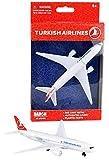 Daron RT5404 Single Airplane Turkish Airlin-in Miniatura para Manualidades, coleccionar y como Regalo, Multicolor