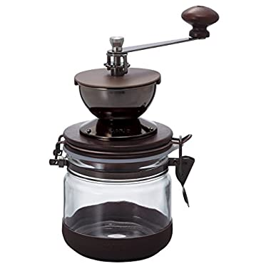 Hario CMHN-4 Canister  Ceramic Coffee Mill Manual Grinder, 120g