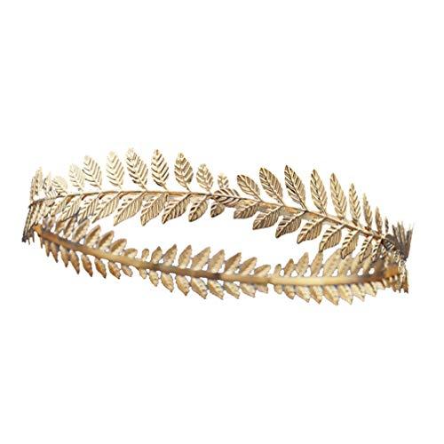 Lurrose Grieks Romeinse blad hoofdband gouden laurierbladeren kroon tiara kostuum Griekse godin haarband bruid bruiloft haaraccessoires
