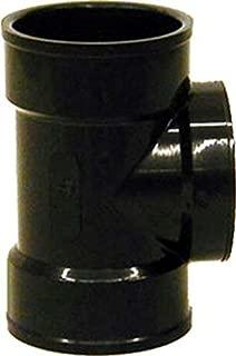 Genova 81421 Dwv Pipe Test Tee, 2 Hub X Fip, SCH 40, Abs, 2