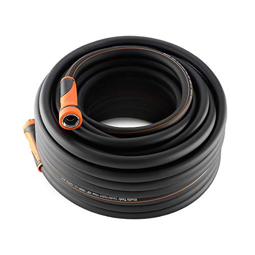 Giraffe Garden Hose 100 feet Lightweight Hybrid 5/8 in. Water Hose with Sleeve, Heavy Duty, Flexible