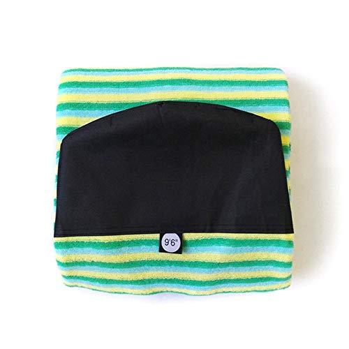 """cjcaijun Surfboard-Socken Surfbrett Socke Hot 6\'0 """"/ 6\'6"""" / 7\'0 """"/ 9\'6"""" Surfbretter Tasche Streifen Bodyboard Windsurf-Cover schützende Sonnenschäden (Color : Sky9tf6in)"""