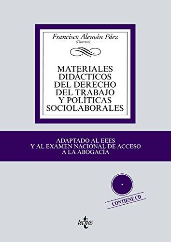 Materiales didácticos del derecho del trabajo y políticas sociolaborales (Derecho - Biblioteca Universitaria de Editorial Tecnos)