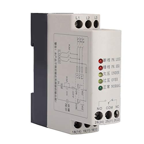 JVRD-380 Überwachungsrelais, 380 VAC, Phasenfolge-Schutzrelais, Spannungsüberwachungsgerät