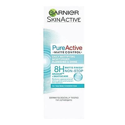 Pure Active Matte Control Anti-Blemish Face Moisturiser 50ml from Garnier