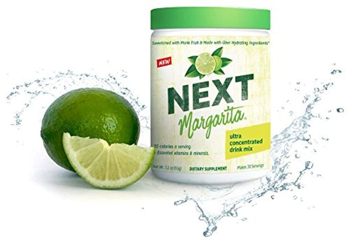 NEXT Margarita Mix, No Added Sugar, Sweetened by Monk Fruit, Hydrating Superfoods