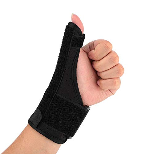 Thumb & Wrist Stabilizer Splint for Thumb, Trigger Finger, Pain Relief, Arthritis, Tendonitis, Sprained and Carpal Tunnel Supporting, Lightweight and Breathable