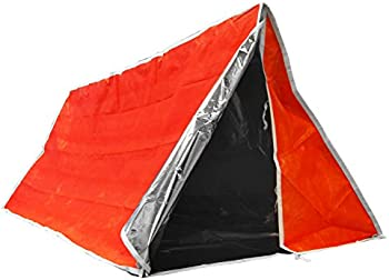 SE Emergency Outdoor Tube Tent with Steel Tent Pegs