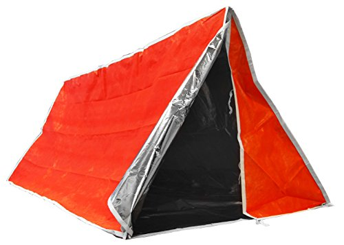 SE Emergency Outdoor Tube Tent with Steel Tent Pegs - ET3683