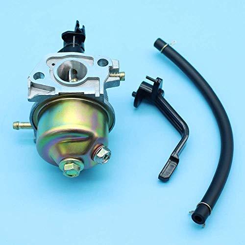 HaoYueDa Carburador Carb Compatible con Honda GX160 5.5HP GX200 6.5HP 168F Generador Bomba de Agua Motor de cortacésped Motor 16100-ZH8-W61