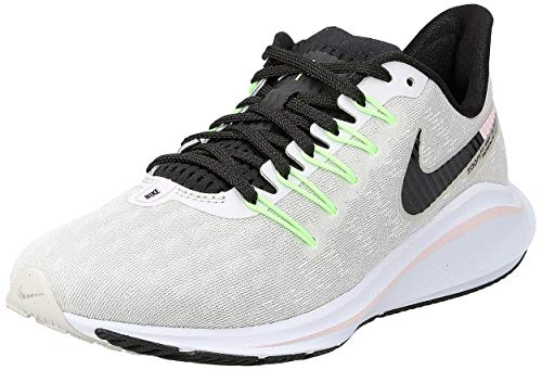 Nike Wmns Air Zoom Vomero 14, Scarpe da Running Donna, Grigio (Vapste Grey/Black/Pink Foam/Lime...
