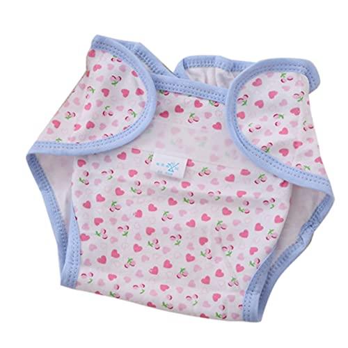 Zhou-YuXiang Wiederverwendbare Vollbaumwolle Neugeborenes Baby Naturwindeln Stoff Komfortabel 6 Schichten Waschbar Babypflegebedarf Weiß