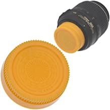 Fotodiox Designer (Yellow) Rear Lens Cap Compatible with...