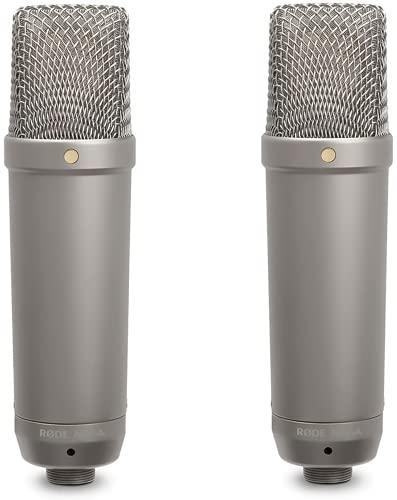 RODE NT1A Microfono a diaframma largo per studi di registrazione / podcast, 19 x 5 x 5cm, 24V/48V, Oro