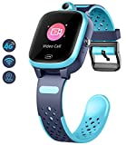 Reloj Inteligente para Niños 4G con GPS WIFI Rastreador de LBS Posición en Tiempo Real Pantalla Táctil HD Videollamada SOS Mensaje a Prueba de Agua Compatible con Android e IOS para Niños y Niñas