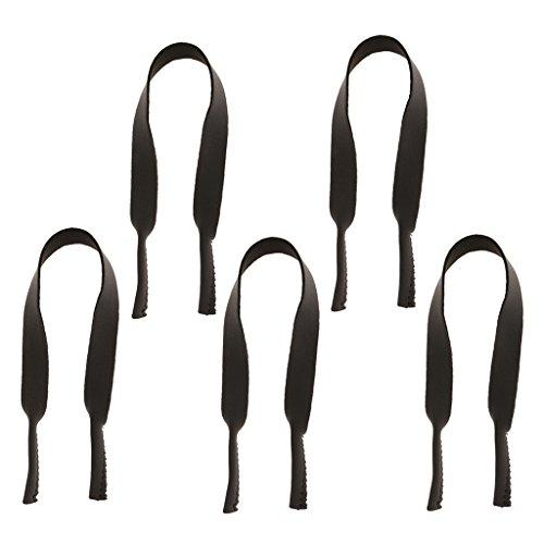 Colcolo 5x Occhiali Da Sole in Neoprene con Occhiali Protettivi per Occhiali con Fascia Sportiva - Grigio, taglia unica