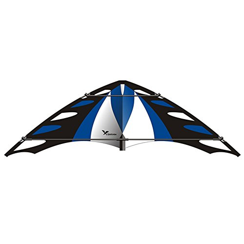 Elliot XDREA_G–X-Dream Flugdrachen, blau/schwarz/weiß