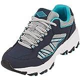 Womens Sneakers Walking Sports Shoes (5.5, Blue)