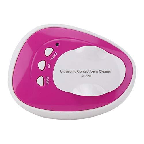 Portable Contact Lens Cleaner Machine Ultrasonic Eye Protein Cleaner Contact Lens Auto Cleaner Eye Protein Cleaning Case USB Daily Care Contact Lens Equiment (Color : Blue)