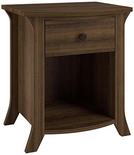 Ameriwood Home Oakridge Accent Table, Brown Oak