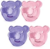 Philips Avent Soothie Shapes Pacifier, Pink/Purple, 0-3 Months, 4 Pack