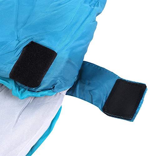 LetCart Sacco a Pelo da Campeggio, Sacco a Pelo Singolo Portatile Caldo da Trekking Addensato da Campeggio per Quattro Stagioni
