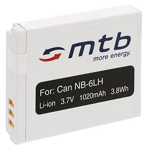 Batería NB-6L para Canon PowerShot SX240 HS, SX260 HS, SX270 HS, SX280 HS, SX500 IS. (Ver descripción)