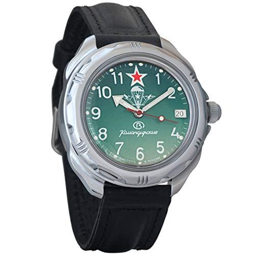 Vostok Komandirskie Militar Ruso mecánico reloj de pulsera para hombre...