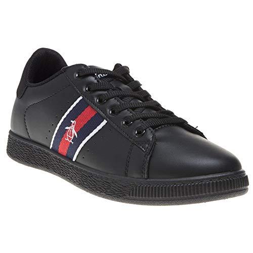 Penguin Mens Plane Sneakers Black 13