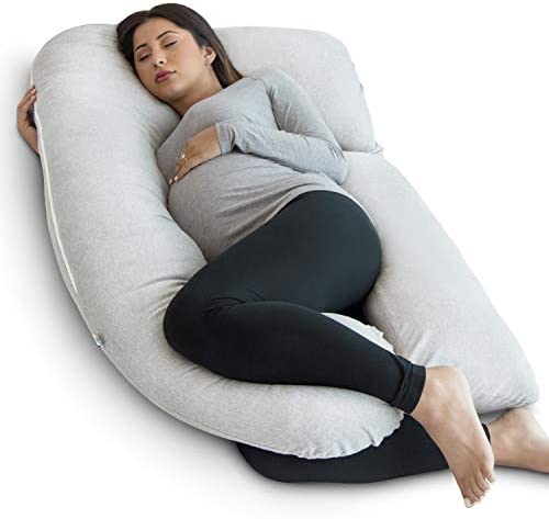 PharMeDoc Pregnancy Pillow U Shape Full Body Pillow and Maternity Support Support for Back Hips product image