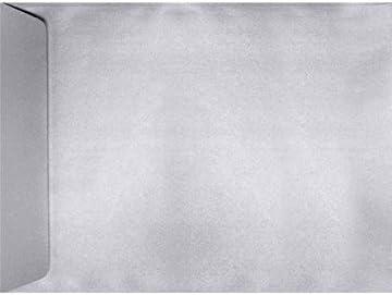 9 x 12 Open End Envelopes Perfect - Metallic Qty Fashionable Silver 1000 Phoenix Mall