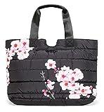 Desigual Damen Sporttasche Fitness Yoga Freizeit Tasche Gym Bag Art&Thread Carry Bag 18WQXW04/3020, Schwarz